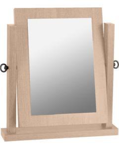 Alaska Dressing Table Mirror Oak