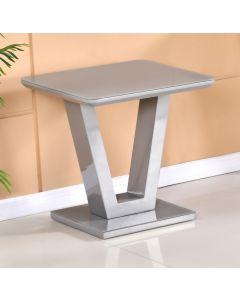 Tenerife Grey Lamp Table