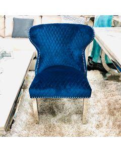 Valentino Navy Dining Chair