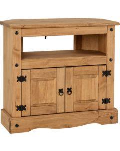 Corona Corner TV Cabinet Pine