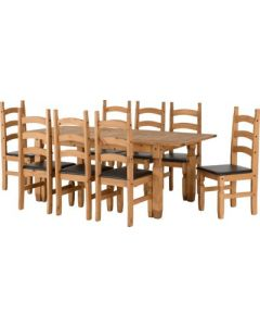 Corona Extending Dining Set(8 Chairs)