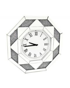 Crushed Diamond Wall Clock
